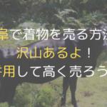岐阜で着物の買取ができる店舗を6つ紹介【電話で確認済!】